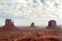 Stunning beauty of the desert southwest in Monument Valley.