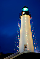 Christmas time at the Port Isabel Lighthouse.